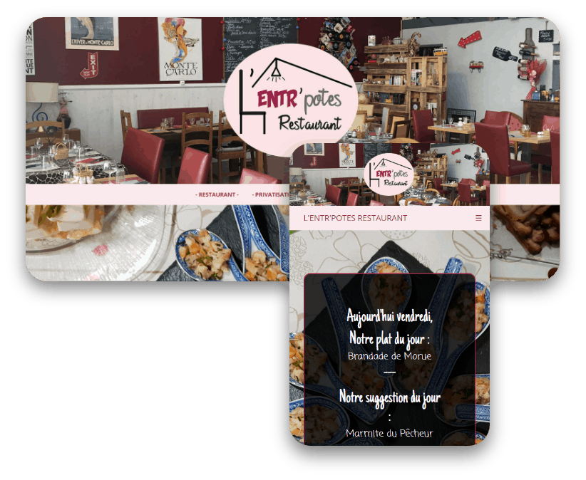 photo de présentation de L'Entr'Potes Restaurant